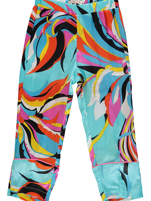 EMILIO PUCCI Girls Abstract Print Trouser(RARE & COLLECTABLE)