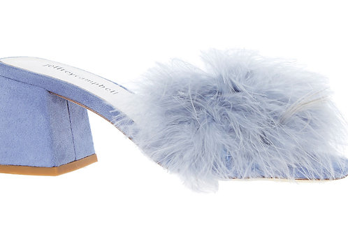 JEFFREY CAMPBELL Fine Feather Slip On Mules (RARE & COLLECTABLE)