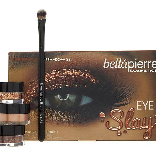 BELLAPIERRE Eye Slay Copper Glam Eyeshadow Set