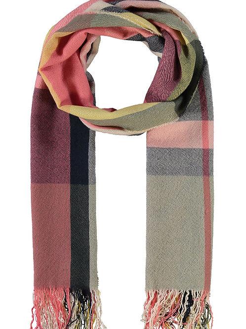 BARBOUR Multi Check Wool Scarf
