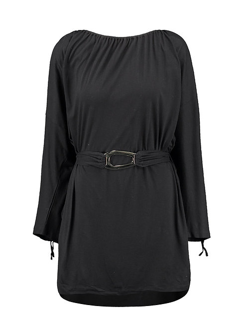 MELISSA ODABASH Robin Jersey Buckled Dress (RARE & COLLECTABLE)