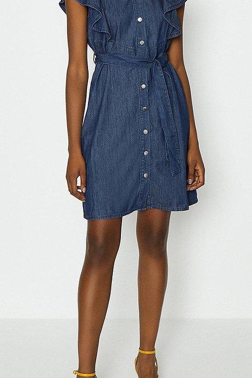 COAST Frill Sleeve Shirt Dress(RARE & COLLECTABLE)