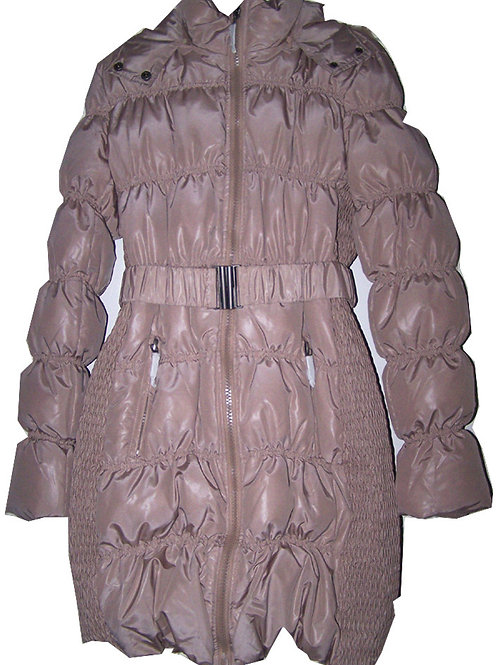 EDINA RONAY LONDON Ladies Luxury Down Padded Coat with Detachable Hood (R&C)