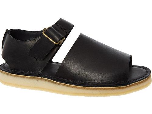 CLARKS Leather Trek Strap Sandals