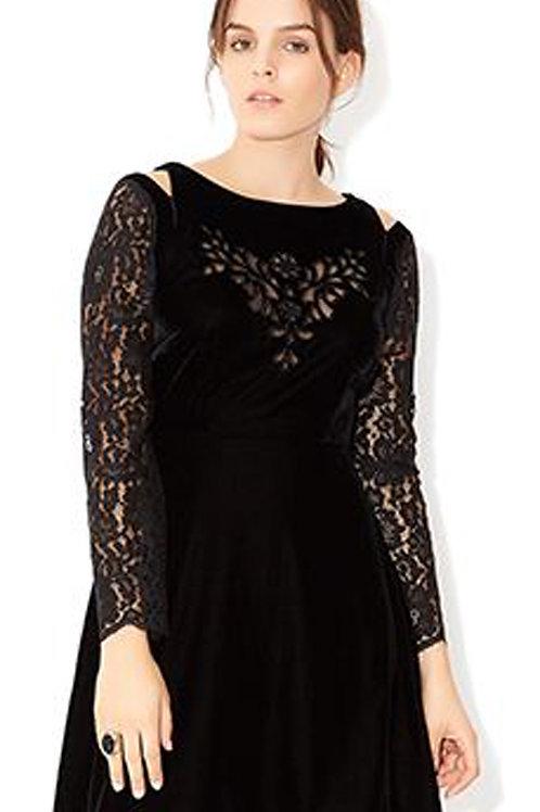 MONSOON Clary Velvet Dress (RARE & COLLECTABLE)