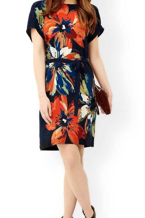 MONSOON Ramona Silk Front Printed Dress (RARE & COLLECTABLE)