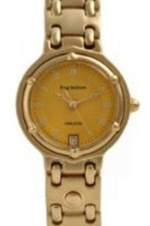 KRUG BAUMEN 5120KL Ladies Charleston Gold Watch
