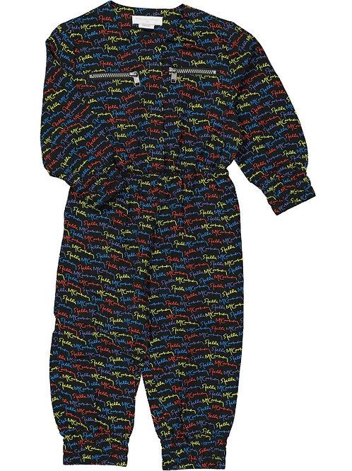STELLA MCCARTNEY KIDS Scribble Logo Jumpsuit (RARE & COLLECTABLE)