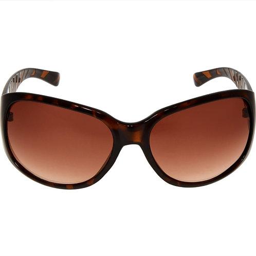 OSCAR DE LA RENTA Women's Animal Print Oversized Oval Sunglasses(RARE & COLL)