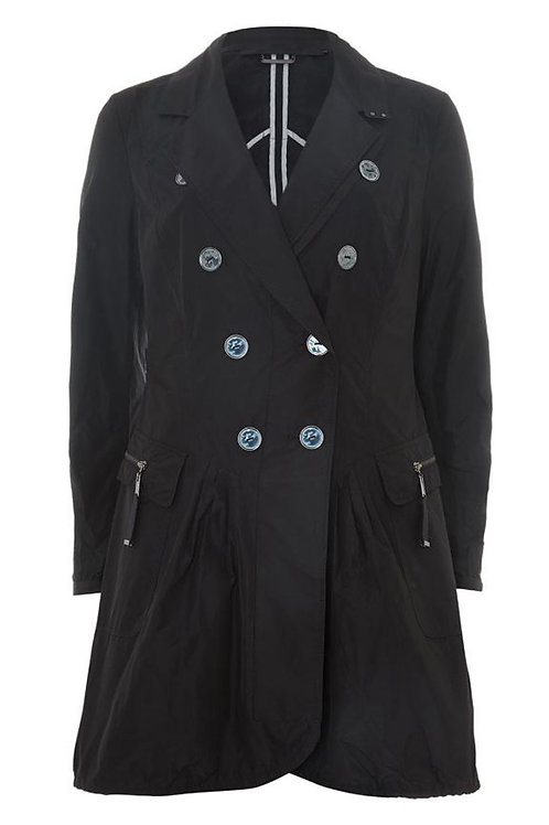 L.A.M.B. Dark Navy Blue Ladies Trench Coat (RARE & COLLECTABLE)