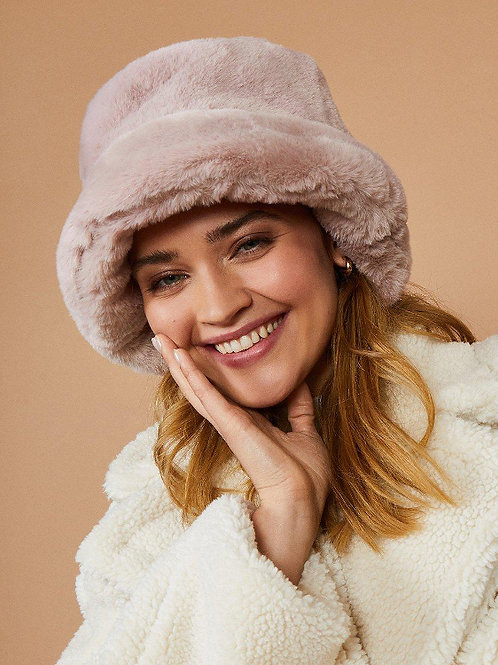 COAST Faux Fur Bucket Hat(RARE & COLLECTABLE)
