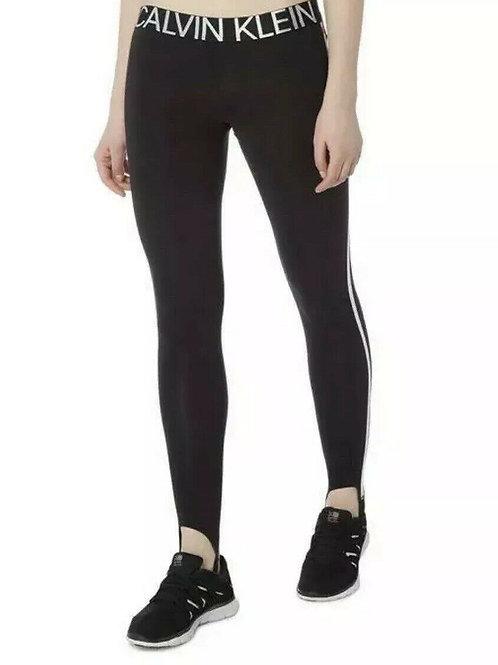 CALVIN KLEIN Stirrup Side Stripe Leggings