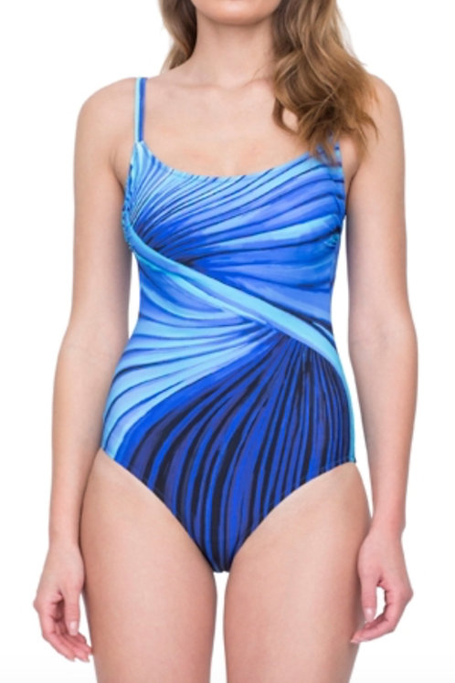 GOTTEX CONTOUR Northern Lights One Piece Swimsuit 19NLD34 (RARE & COLLECTABLE)