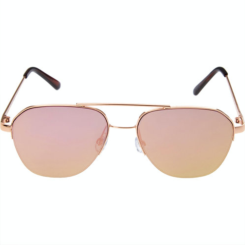 OSCAR DE LA RENTA Women's Metal Round Sunglasses (RARE & COLLECTABLE)