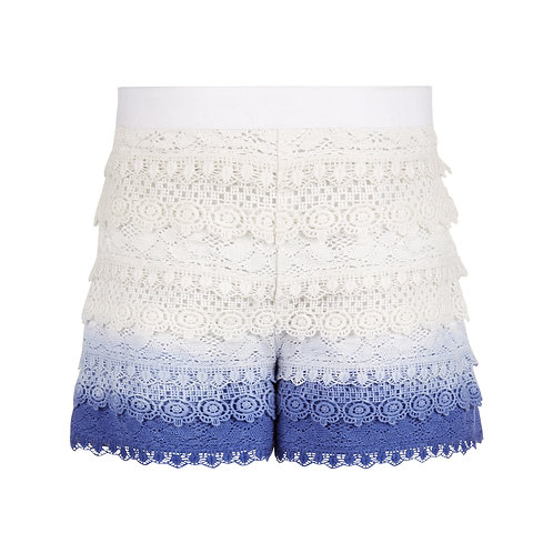MONSOON By Storm Girls Dip Dye Lace Short (RARE & COLLECTABLE)