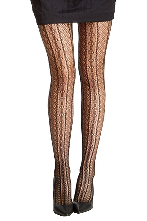 SPANX Tight-End Bodyshaping Tights Lace Stripe 964