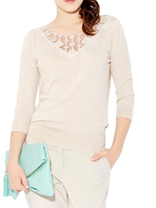 MONSOON Ivy Embroidered Insert Top