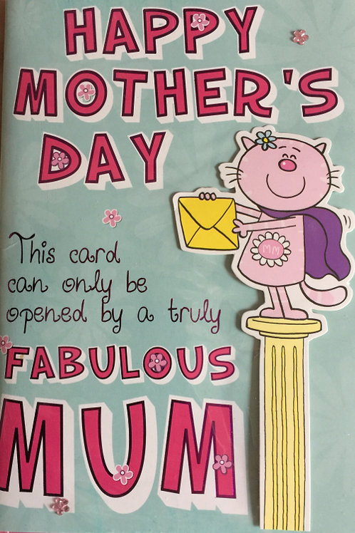 Mother's Day Card Code MAZL