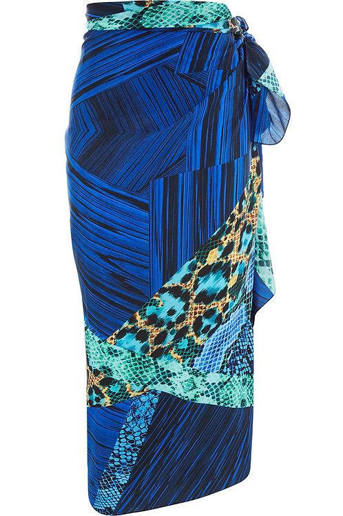 GOTTEX Collection Animal Print Silk Sarong (RARE & COLLECTABLE)