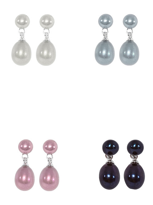 KYOTO PEARL Set of Four Pearl Earrings (RARE & COLLECTABLE)