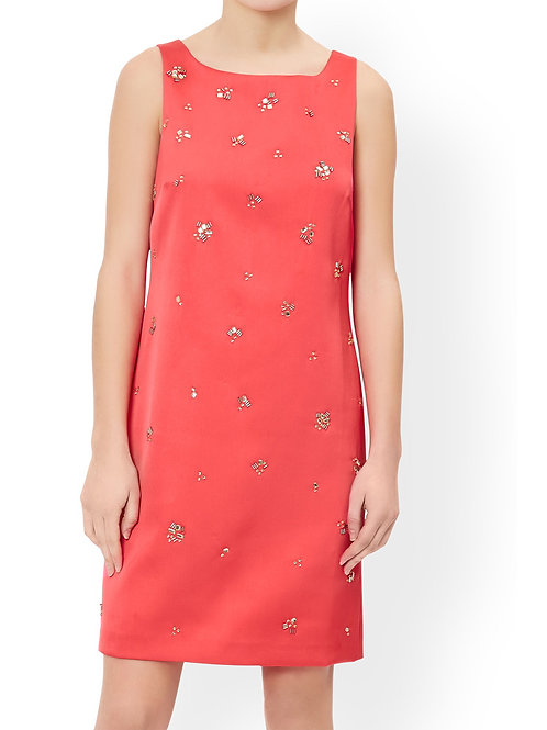 MONSOON Petunia Embellished Dress