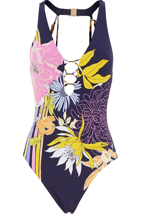 TRINA TURK Floral Swimsuit (RARE & COLLECTABLE)