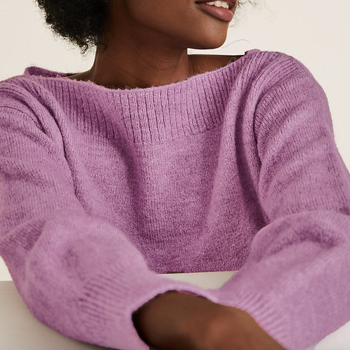 M&S COLLECTION Knitted Slash Neck Jumper T38/2978
