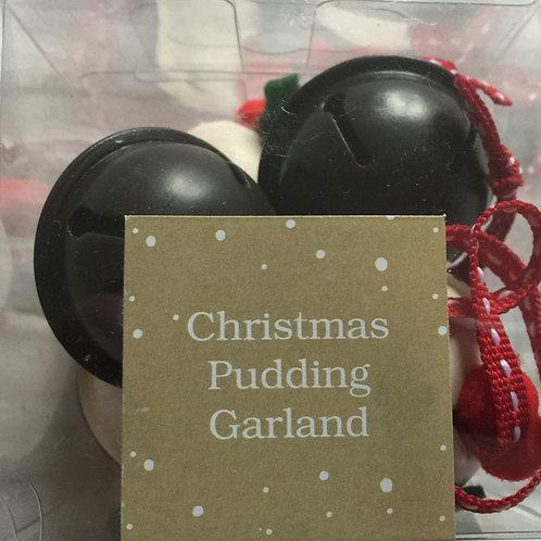 Christmas Pudding Garland