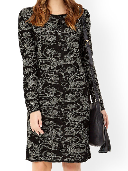 MONSOON Lacey Sparkle Jacquard Dress (RARE & COLLECTABLE)