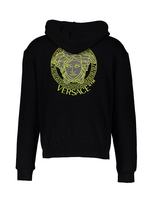 VERSACE Underwear Sun Embroidered Hoodie (RARE & COLLECTABLE)