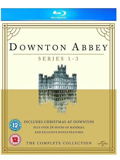 Downton Abbey Series 1- 3/Christmas at Downton Abbey 2011 [Blu-ray] [2010]