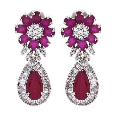 AMISHI LONDON Bright Crystals Drop Earrings (RARE & COLLECTABLE)