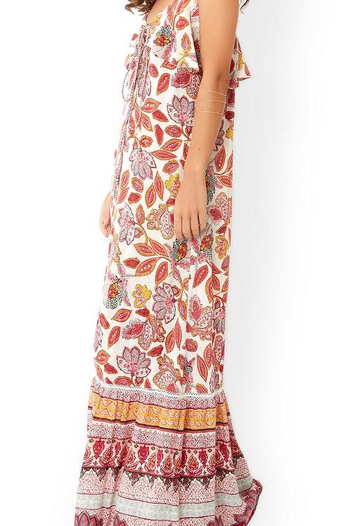 MONSOON Kirana Print Maxi Dress (RARE & COLLECTABLE)