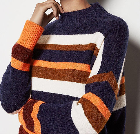 KAREN MILLEN Striped Jumper 2.jpg