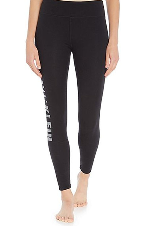 CALVIN KLEIN Sleepwear Calvin Klein Logo Lounge Legging Pant QS5548E-001 (R&C)