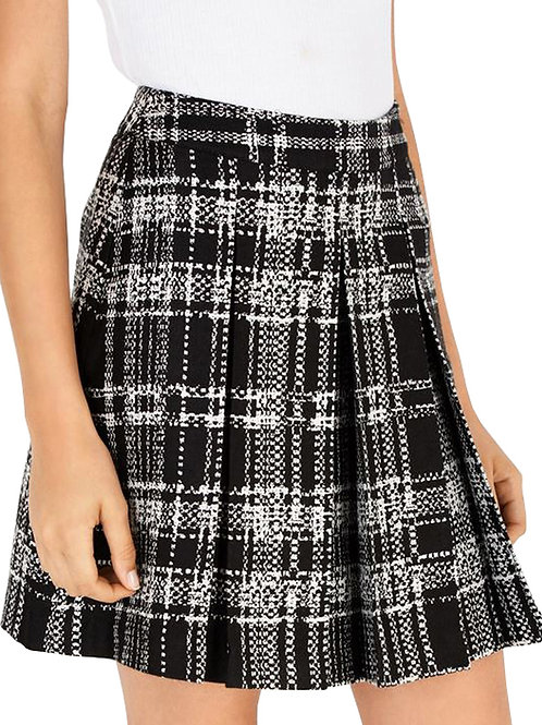 WAREHOUSE Check Pleated Skirt