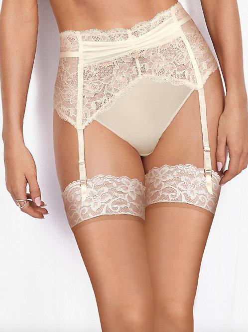 ROSIE for M&S Suspender Luxe Silk & Vintage Lace Suspender T81/6383Y