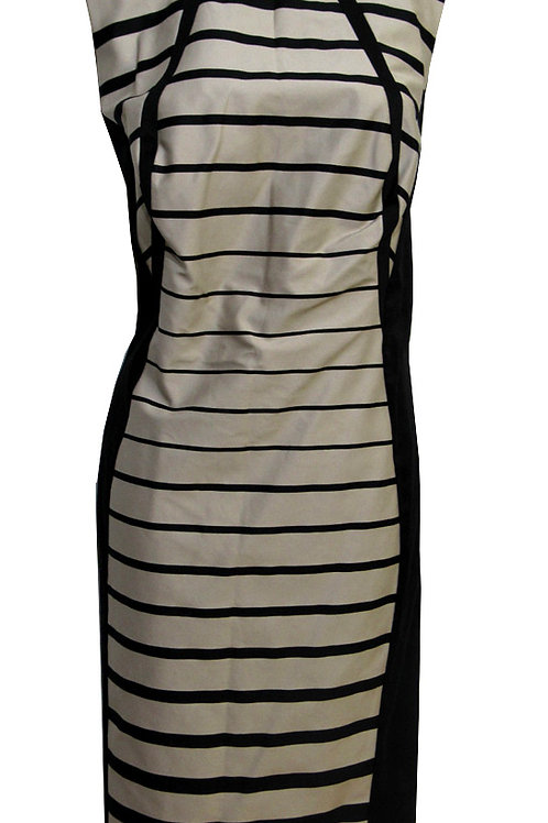 M&S COLLECTION Stripe Shift Illusion Dress T59/1996D