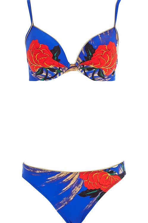 GOTTEX Collection Royal Padded Mandarin Bikini Set 15MN-951R (RARE & COLL)