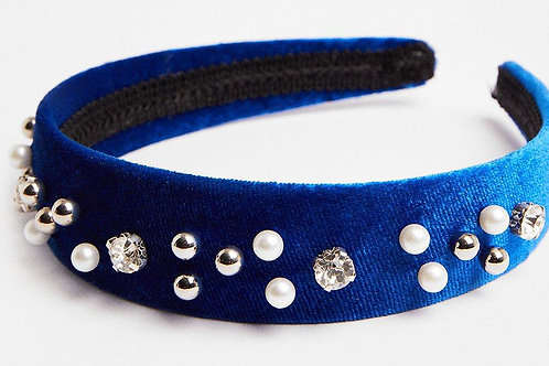 COAST Embellished Velvet Headband (RARE & COLLECTABLE)