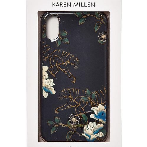 KAREN MILLEN Floral Tiger iPhone XR Case