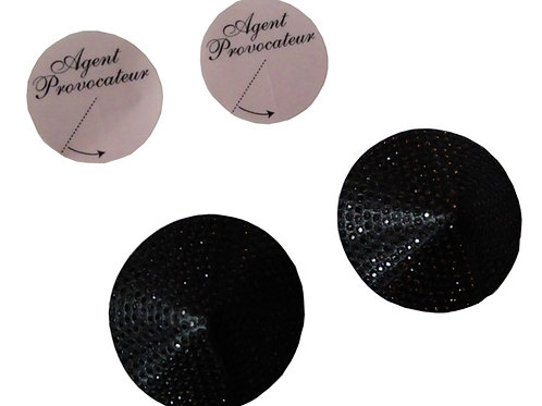 AGENT PROVOCATEUR Soiree Danika Pasties with Swarovski Crystals (RARE & COLLECT)