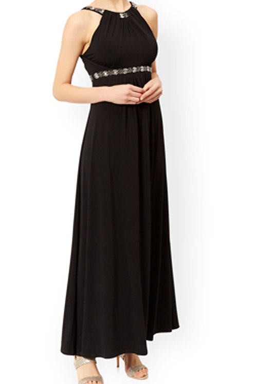 MONSOON Giselle Jersey Maxi Dress (RARE & COLLECTABLE)
