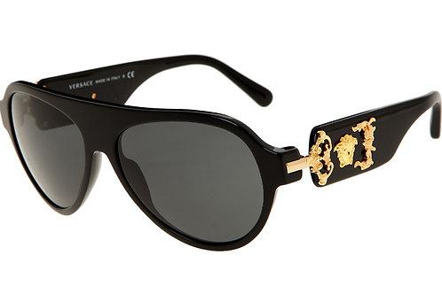 VERSACE Black Butterfly Sunglasses 4323