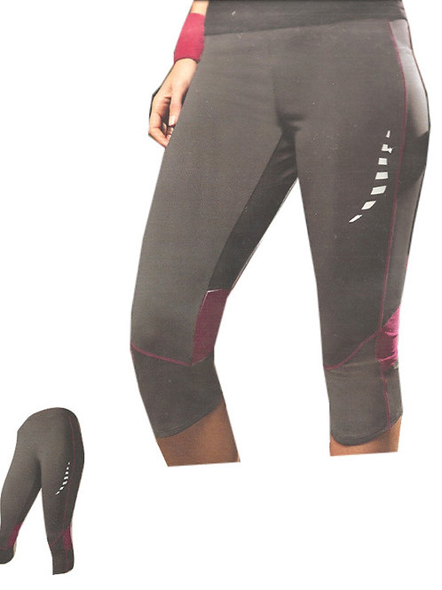 CRIVIT Sports Cropped Running Trousers