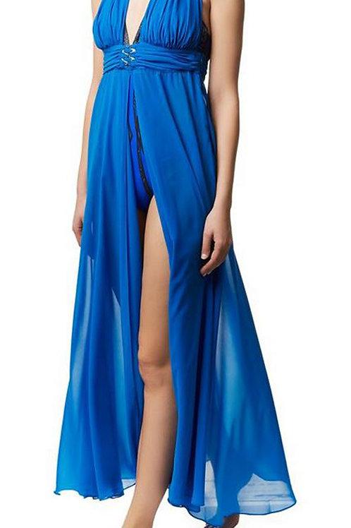 GOTTEX Jewels Of The Sea Maxi Dress 15JS-300R (RARE & COLLECTABLE)