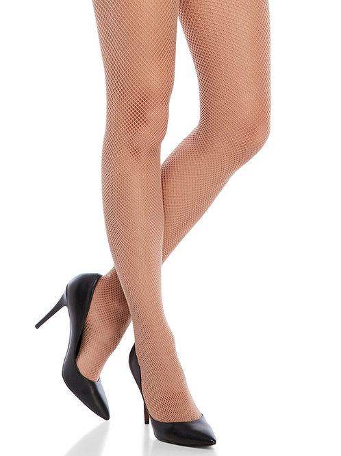 SPANX Limited Edition Uptown Tight-End Patterned Bodyshaping Backseam Fishnet