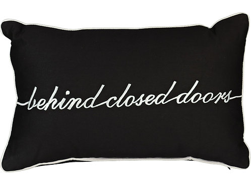 AGENT PROVOCATEUR Behind Closed Doors Typography Cushion(RARE & COLLECTABLE)