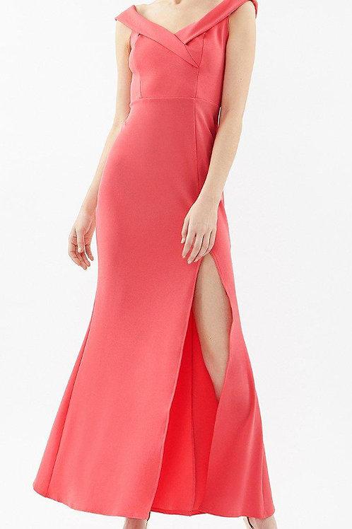 COAST Bardot Cross Neck Maxi Dress(RARE & COLLECTABLE)