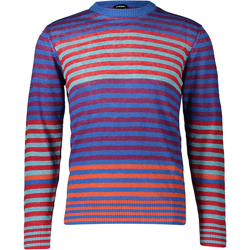 DIESEL Linen Stripe Jumper (RARE & COLLECTABLE)